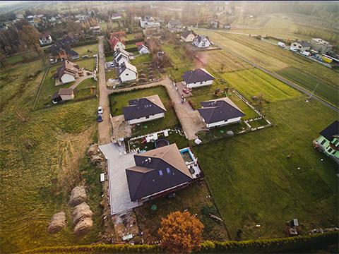 Nowe domy Oświęcim